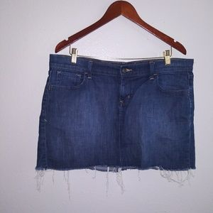 Old Navy Denim mini Skirt